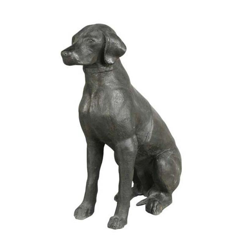 Скульптура LabradorСтатуэтки<br><br><br>Material: Керамика<br>Высота см: 70