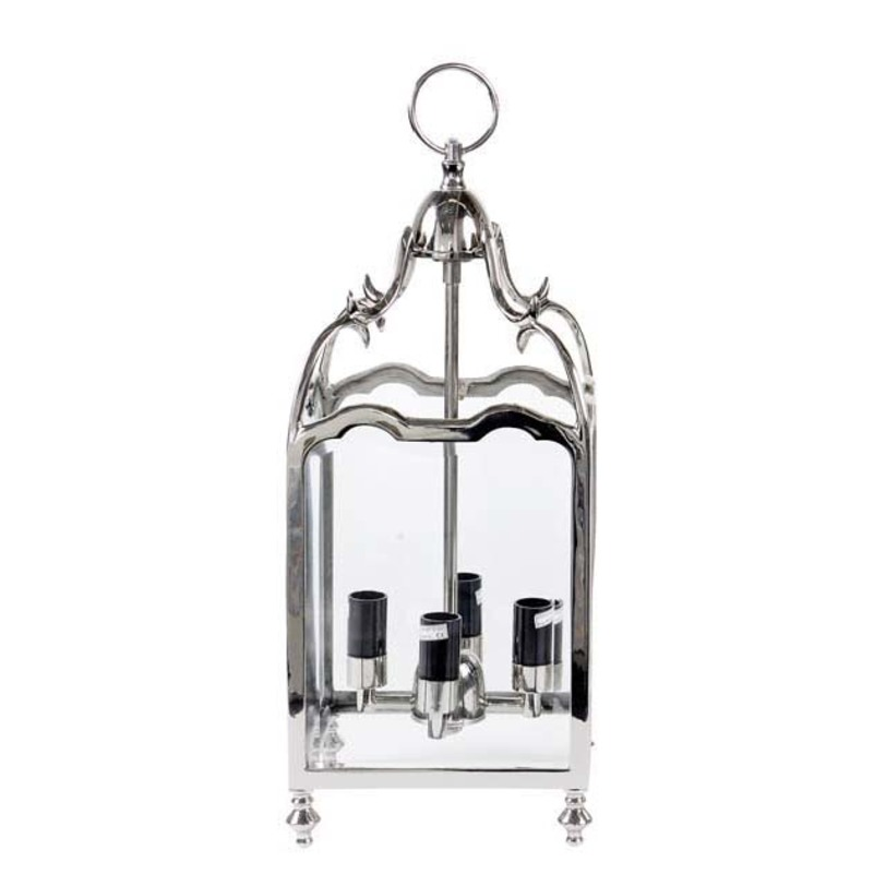 Подвесной светильник Lantern Empire SmallПодвесные светильники<br>Количество лампочек: 4<br>Мощность: 4 x 40 Вт<br>Цоколь: E14<br><br>Material: Металл<br>Length см: 20<br>Width см: 20<br>Depth см: None<br>Height см: 50<br>Diameter см: None