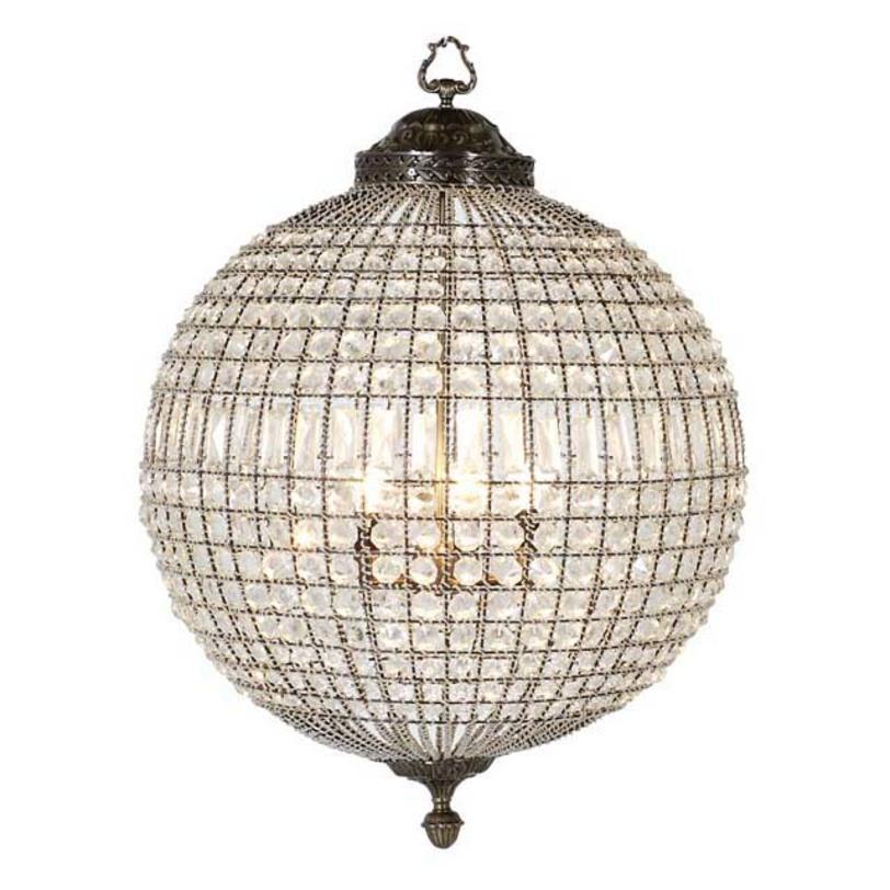 Подвесной светильник Chandelier Kasbah LargeПодвесные светильники<br>Подвесной светильник от голландского бренда Eichholtz напоминает драгоценное украшение, блистательное и остающееся актуальным всегда, вне меняющейся моды.&amp;lt;div&amp;gt;&amp;lt;br&amp;gt;&amp;lt;/div&amp;gt;&amp;lt;div&amp;gt;Цвет металла - состаренная латунь.&amp;amp;nbsp;&amp;lt;div&amp;gt;Высота подвеса регулируется за счет звеньев цепи.&amp;amp;nbsp;&amp;lt;/div&amp;gt;&amp;lt;div&amp;gt;&amp;amp;nbsp;Количество лампочек: 5&amp;lt;/div&amp;gt;&amp;lt;div&amp;gt;Мощность: 5 x 40 Вт&amp;amp;nbsp;&amp;lt;/div&amp;gt;&amp;lt;div&amp;gt;Цоколь: E14&amp;lt;/div&amp;gt;&amp;lt;/div&amp;gt;<br><br>Material: Металл<br>Length см: None<br>Width см: None<br>Depth см: None<br>Height см: 85<br>Diameter см: 61