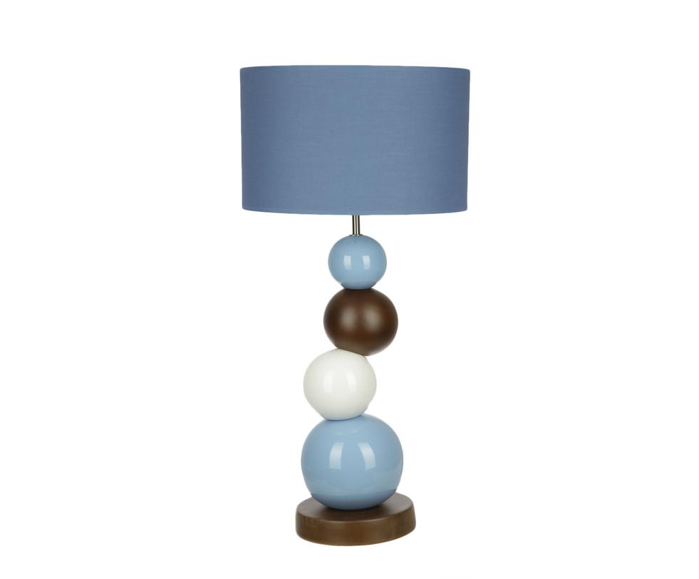 Настольная лампаДекоративные лампы<br>&amp;lt;div&amp;gt;Вид цоколя: E27&amp;lt;/div&amp;gt;&amp;lt;div&amp;gt;Мощность: 60W&amp;lt;/div&amp;gt;&amp;lt;div&amp;gt;Количество ламп: 1&amp;lt;/div&amp;gt;<br><br>Material: Керамика<br>Length см: None<br>Width см: None<br>Depth см: None<br>Height см: 73.5<br>Diameter см: 35