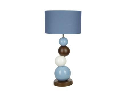Настольная лампа (farol) голубой 35.0x73 см.