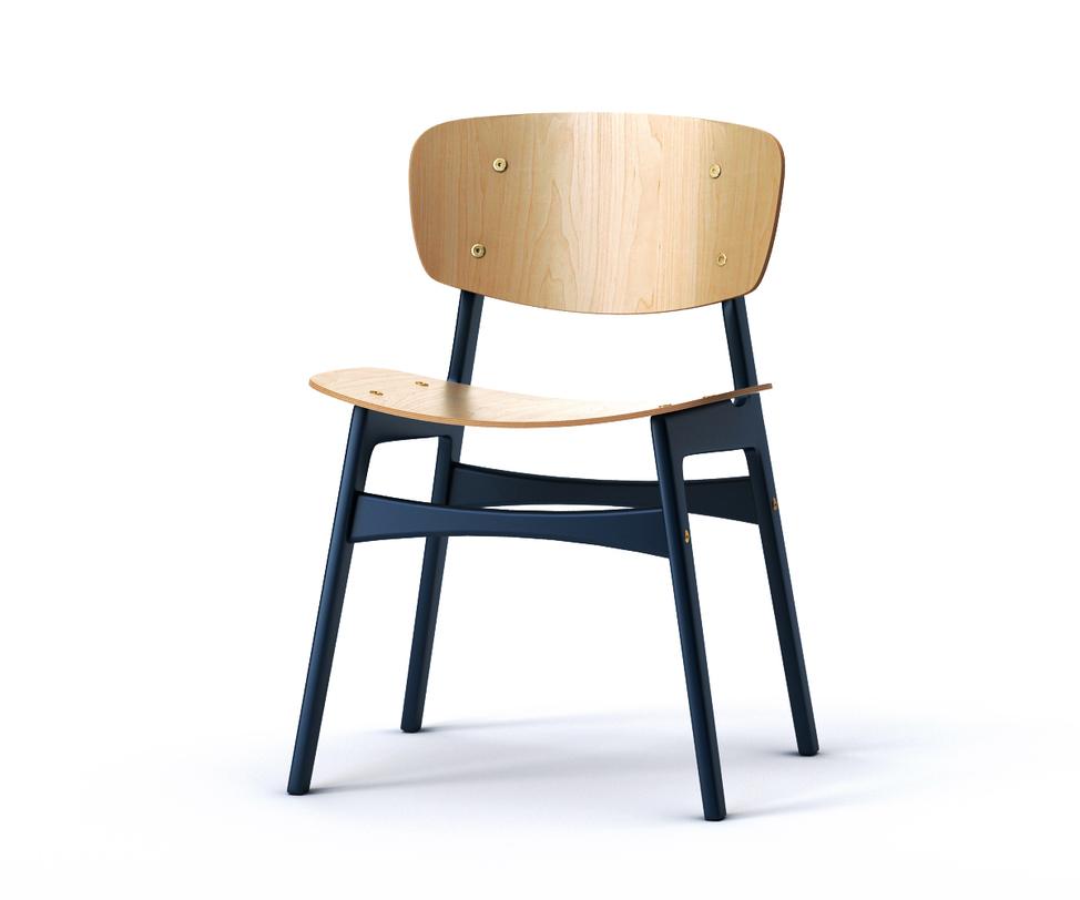 Стул SIDОбеденные стулья<br>&amp;lt;p class=&amp;quot;MsoNormal&amp;quot;&amp;gt;Обеденный стул SID с ярко-синими ножками не оставит равнодушной ни одну кухню. Спинка и сидение слегка изогнуты,<br>что обеспечит полный комфорт во время трапезы. Отвлеченную форму повторяют и<br>ножки: они слегка наклонены, придавая нижнему основанию трапециевидную форму. За счет высоких ножек может использоваться и в качестве барного стула.&amp;amp;nbsp;&amp;lt;/p&amp;gt;<br><br>Material: Дерево<br>Ширина см: 54<br>Высота см: 78<br>Глубина см: 46