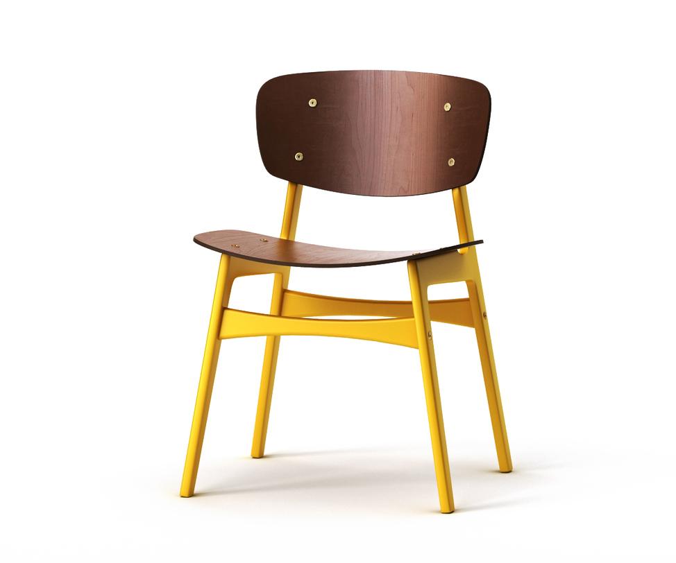 Стул SIDОбеденные стулья<br>Оптимистичный стул &amp;quot;SID&amp;quot; мгновенно привлекает внимание ярким стилем.&amp;amp;nbsp;&amp;lt;span style=&amp;quot;line-height: 1.78571429;&amp;quot;&amp;gt;Спинка и сидение слегка изогнуты, что обеспечит полный комфорт во время трапезы. Основная часть выполнена из натурального дерева темного-коричневого цвета. А ножки и поперечные&amp;amp;nbsp;&amp;lt;/span&amp;gt;перекладины&amp;lt;span style=&amp;quot;line-height: 1.78571429;&amp;quot;&amp;gt;&amp;amp;nbsp;выкрашены в насыщенный желтый цвет. Подобный контраст&amp;amp;nbsp;привлечет внимание гостей и&amp;amp;nbsp;&amp;lt;/span&amp;gt;зарядит&amp;lt;span style=&amp;quot;line-height: 1.78571429;&amp;quot;&amp;gt;&amp;amp;nbsp;кухню позитивом.&amp;lt;/span&amp;gt;<br><br>Material: Дерево<br>Length см: 54<br>Width см: 46<br>Depth см: None<br>Height см: 78<br>Diameter см: None