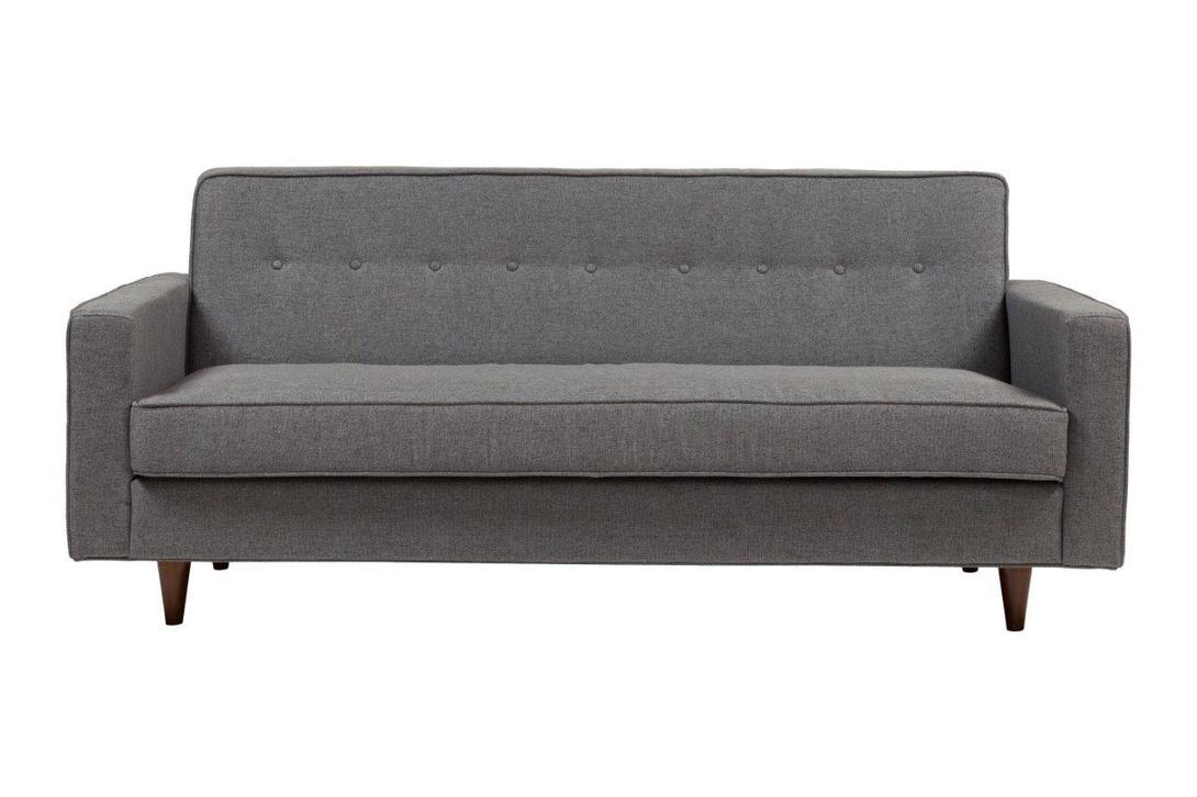 Диван Bantam Sofa Silver-GreyТрехместные диваны<br>Диван &amp;quot;Bantam Sofa Silver-Grey&amp;quot; ? прекрасный пример объединения лаконичности, практичности и по-домашнему уютного облика. Несмотря на строгие, выверенные пропорции, он не выглядит слишком сдержанным. Скругленные формы в сочетании с отсутствием острых углов добавляют мягкость аскетичному оформлению. Скандинавский стиль, полный холодной элегантности, здесь раскрывается неожиданно теплым и нежным.&amp;lt;div&amp;gt;&amp;lt;br&amp;gt;&amp;lt;/div&amp;gt;&amp;lt;div&amp;gt;Материал: ткань, поролон, деревянный каркас, деревянные ножки.&amp;lt;/div&amp;gt;<br><br>Material: Текстиль<br>Length см: 186<br>Width см: 84<br>Depth см: None<br>Height см: 81<br>Diameter см: None