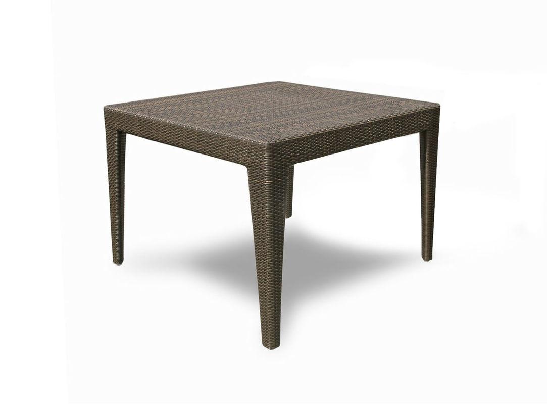 Стол обеденный MaltaСтолы и столики для сада<br>Стол со стеклом.<br>Цвет плетения: mocca<br><br>Material: Ротанг<br>Length см: 100<br>Width см: 100<br>Depth см: None<br>Height см: 75<br>Diameter см: None