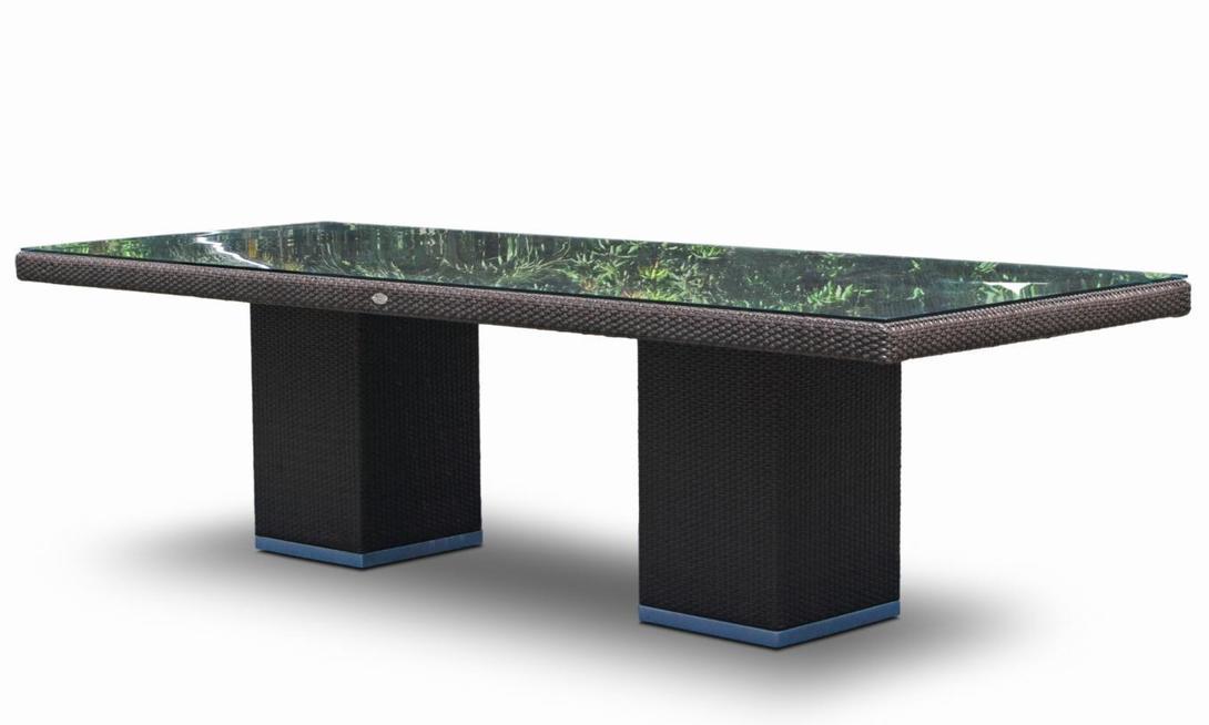 Стол PACIFIC CUBEОбеденные столы<br>Цвет плетения: mocca<br><br>Material: Ротанг<br>Length см: 280.0<br>Width см: 100.0<br>Depth см: None<br>Height см: 74.0<br>Diameter см: None