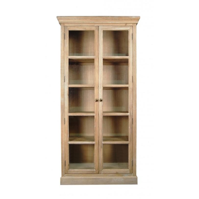 Шкаф СountryКнижные шкафы и библиотеки<br>Центром любой библиотеки является книжный шкаф. Шкаф из коллекции мебели &amp;quot;Сountry&amp;quot; демонстрирует истинное благородство и надежность. Фасад полностью выполнен из натурального дуба. Отдельные части поверхности слегка состарены, что придает образу винтажности. Верхняя капитель укрощает строгий вид, изящно завершая внешний облик.<br><br>Material: Дуб<br>Length см: 100<br>Width см: 43<br>Depth см: None<br>Height см: 205<br>Diameter см: None