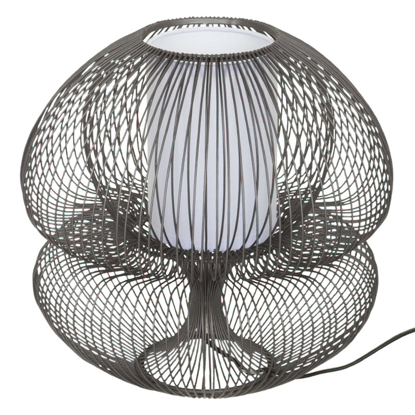 настольная лампа IRONДекоративные лампы<br>цоколь Е14, мощность max 40 вт.<br><br>Material: Металл<br>Length см: 31<br>Width см: 31<br>Depth см: None<br>Height см: 31<br>Diameter см: None