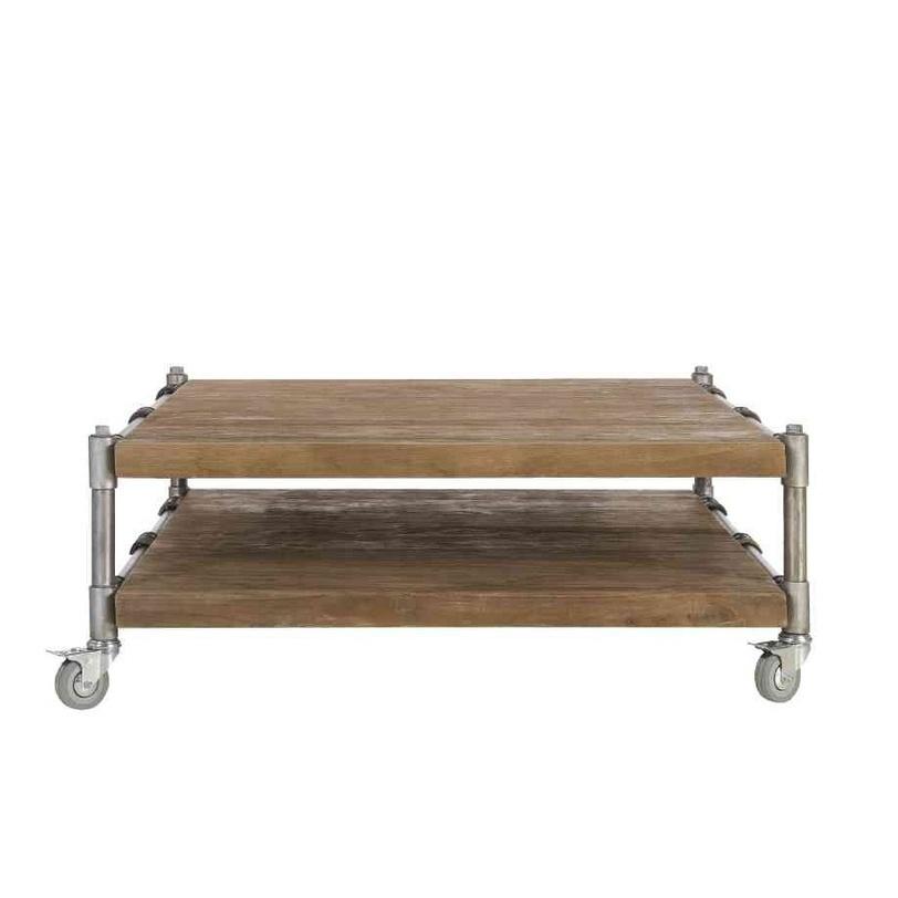 Стол Kasting 80Журнальные столики<br>Передвижной столик. Отличается солидным видом и удобством в эксплуатации.<br><br>Мебельная компания Teak House выпускает стильную, винтажную мебель из массива тика, стараясь сохранить неповторимую фактуру, красоту и жизненную силу натуральной поверхности дерева, подчеркнуть ее удивительный и уникальный рисунок, созданный самой природой.<br><br>Material: Тик<br>Length см: 80.0<br>Width см: 80.0<br>Depth см: None<br>Height см: 40.0<br>Diameter см: None