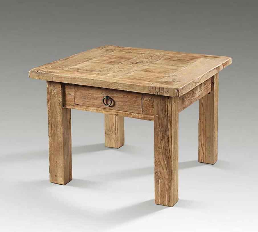 Стол кофейный MexicoКофейные столики<br>Компактный кофейный столик с выдвижным ящиком. Станет стильным дополнением к интерьеру.<br><br>Мебельная компания Teak House старается не только передать неповторимую фактуру, красоту и жизненную силу натуральной поверхности дерева, но и содействует восполнению и сохранению лесных богатств, отдавая предпочтение древесине с сертифицированных плантаций или старому, восстановленному тику.<br><br>Material: Тик<br>Length см: 60.0<br>Width см: 60.0<br>Depth см: None<br>Height см: 47.0<br>Diameter см: None