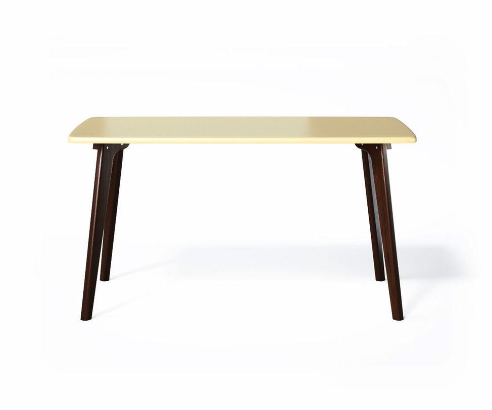 Обеденный стол SANGOОбеденные столы<br>Обеденный стол SANGO объединяет в себе простоту, комфорт и индивидуальность. Прочное основание, большая поверхность и почти классическая прямоугольная форма столешницы позволяют использовать стол SANGO в любом интерьере.<br><br>Material: Дерево<br>Length см: None<br>Width см: 80<br>Depth см: 135<br>Height см: 75<br>Diameter см: None