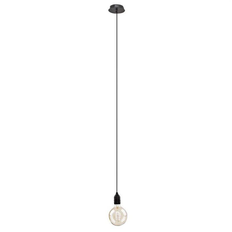 Подвесной светильник Vintage BulbПодвесные светильники<br>Подвесной светильник Vintage Bulb выполнен из античной латуни. Лампочка в комплект не входит.<br>Количество лампочек: 1<br>Мощность: 1x 40 Вт<br>Тип лампы: НАКАЛИВАНИЯ, E27<br><br>Material: Металл<br>Ширина см: 13.0<br>Высота см: 130.0<br>Глубина см: 13.0