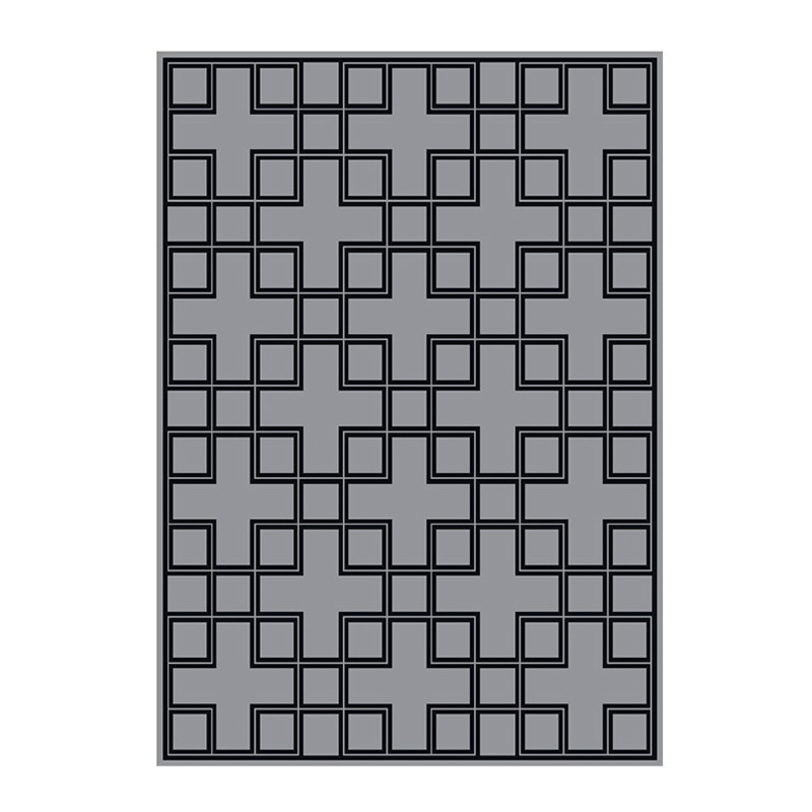 Ковер CatonПрямоугольные ковры<br>Ковер из коллекции Caton выполнен из 100% хлопка. Цвет: серый с черным орнаментом.<br><br>Material: Хлопок<br>Length см: 240<br>Width см: 170<br>Depth см: None<br>Height см: None<br>Diameter см: None