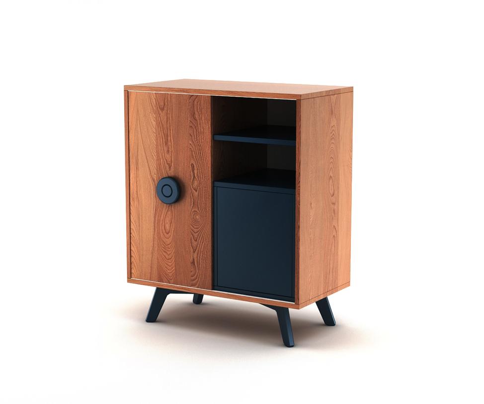 Комод BUTTONИнтерьерные комоды<br>Комод Button. Модель из новой коллекции мебели The IDEA. Строгие линии, гармоничные фактуры, современное исполнение – отличительные черты комода Button. Универсальный корпус, фирменные цвета эмали The IDEA и яркая ручка Button игриво впишутся в любой интерьер.<br>Инструкция по сборке прилагается.<br>Срок изготовления до 25 рабочих дней<br><br>Material: Дерево<br>Ширина см: 80.0<br>Высота см: 90.0<br>Глубина см: 45.0