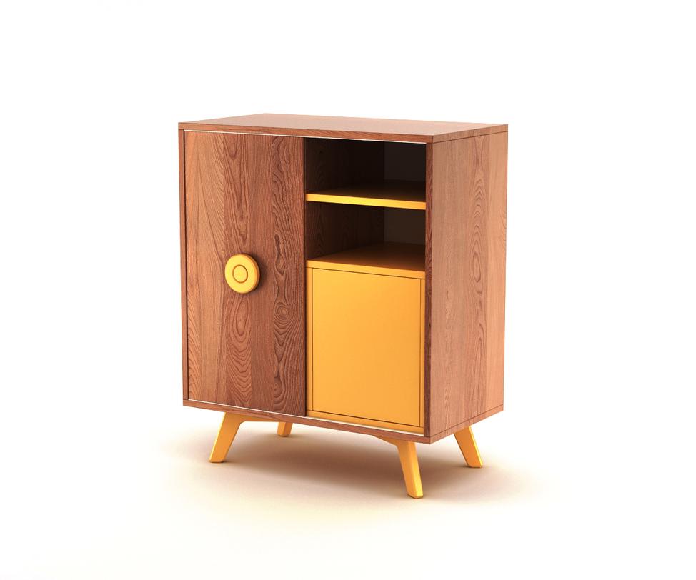 Комод BUTTONКомоды на ножках<br>Комод Button. Модель из новой коллекции мебели The IDEA. Строгие линии, гармоничные фактуры, современное исполнение – отличительные черты комода Button. Универсальный корпус, фирменные цвета эмали The IDEA и яркая ручка Button игриво впишутся в любой интерьер.<br>Инструкция по сборке прилагается.<br>Срок изготовления до 25 рабочих дней<br><br>Material: Дерево<br>Ширина см: 45<br>Высота см: 90