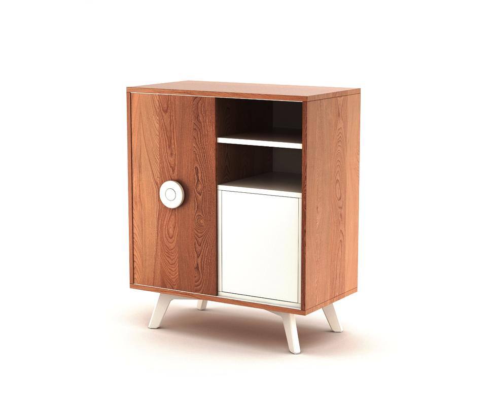 Комод BUTTONКомоды на ножках<br>Комод Button. Модель из новой коллекции мебели The IDEA. Строгие линии, гармоничные фактуры, современное исполнение – отличительные черты комода Button. Универсальный корпус, фирменные цвета эмали The IDEA и яркая ручка Button игриво впишутся в любой интерьер.<br>Инструкция по сборке прилагается.<br>Срок изготовления до 25 рабочих дней<br><br>Material: Дерево<br>Length см: 80<br>Width см: 45<br>Depth см: None<br>Height см: 90<br>Diameter см: None