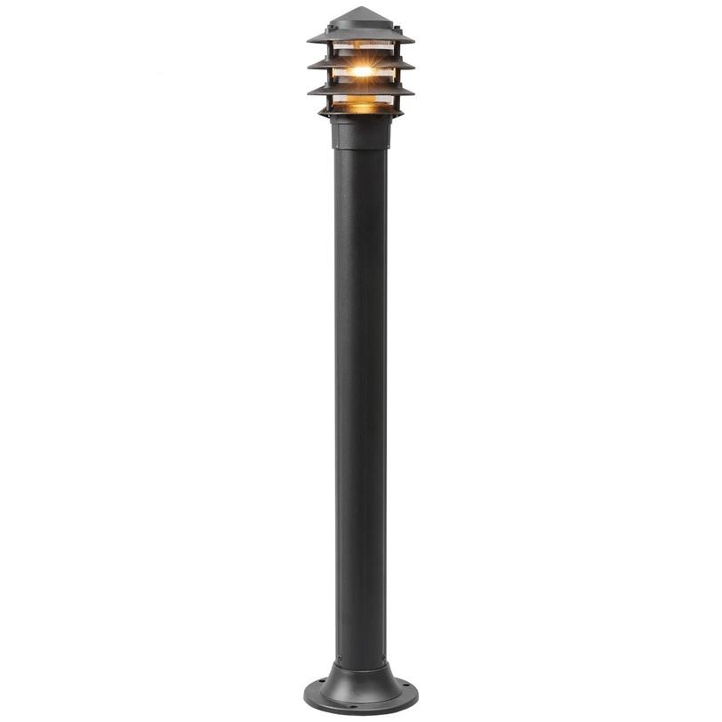 Светильник УранУличные наземные светильники<br>Основание из алюминия черного цвета, плафоны из стекла<br>Количество ламп: 1 шт<br>Мощность: 60W<br>Цоколь: E27<br><br>Рекомендуемая площадь освещения: 3 кв. м<br><br>Material: Алюминий<br>Высота см: 99