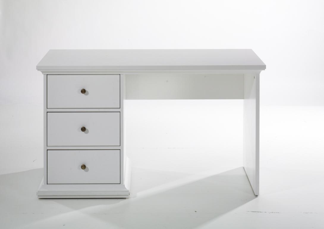 Стол рабочий ParisПисьменные столы<br>&amp;lt;p class=&amp;quot;MsoNormal&amp;quot;&amp;gt;Желаете добавить больше уюта своему рабочему уголку или зоне, где постигает азы науки ваш ребенок? Стол &amp;quot;Paris&amp;quot; идеально подойдет для этой цели. Он выполнен в скандинавском стиле, отличительными чертами которого являются лаконичность, естественность и функциональность. Изысканный белый стол не будет отвлекать на себя внимание, но при этом гармонизирует пространство и привнесет в него атмосферу солнечного тепла.&amp;lt;/p&amp;gt;&amp;lt;p class=&amp;quot;MsoNormal&amp;quot;&amp;gt;Поставка: в разобранном виде, инструкция по сборке прилагается.&amp;lt;/p&amp;gt;<br><br>Material: ДСП<br>Ширина см: 130<br>Высота см: 73<br>Глубина см: 61