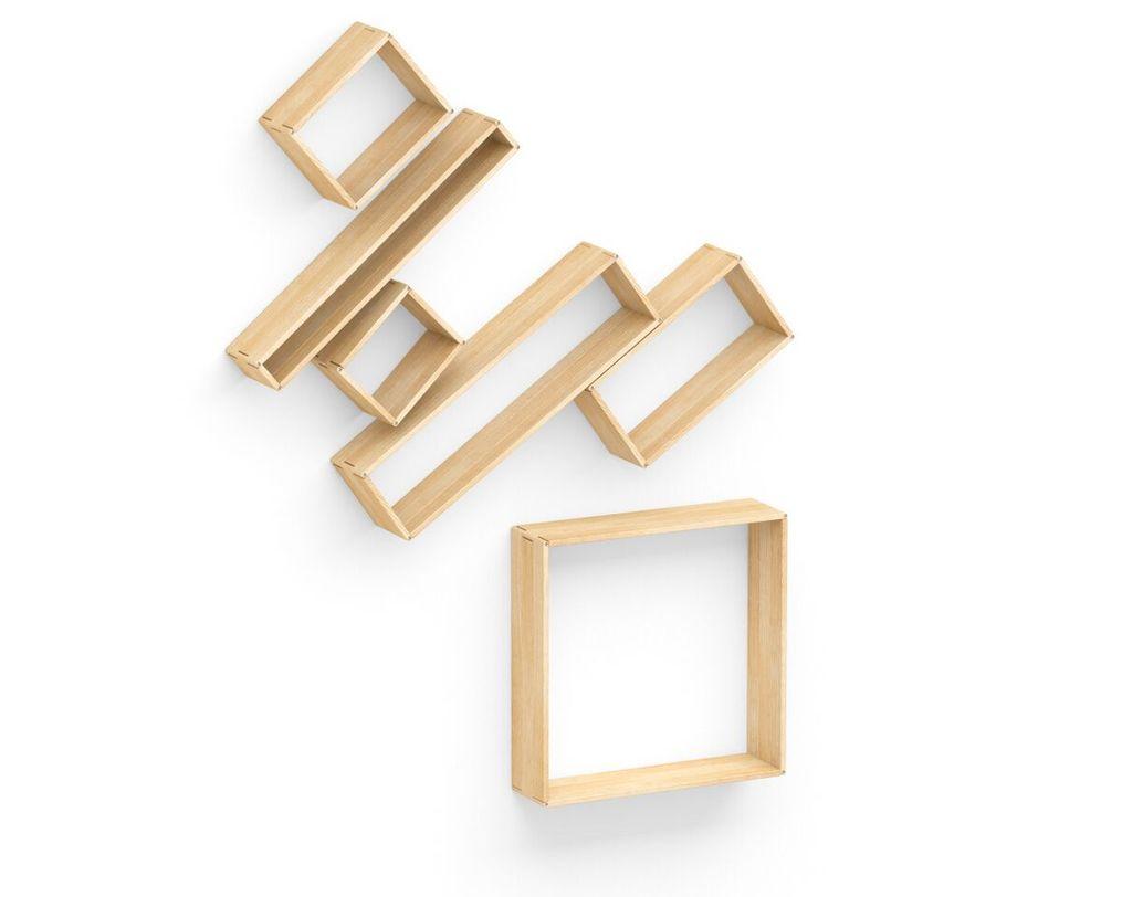 Полка Flex shelf. Set 164Полки<br>Если вы не любите ограничивать себя в фантазиях, то вам обязательно понравится полка &amp;quot;Flex shelf. Set 164&amp;quot;. Уникальная комбинация различных по форме и размеру составляющих позволит вам создавать самые различные комбинации мест для хранения. С помощью этой полки, выполненной в эклектичном стиле, вы сможете так часто менять интерьер своей комнаты, как вам этого захочется.3-4 недели&amp;lt;br&amp;gt;<br><br>Material: Ясень<br>Length см: None<br>Width см: 170<br>Depth см: 22<br>Height см: 224<br>Diameter см: None