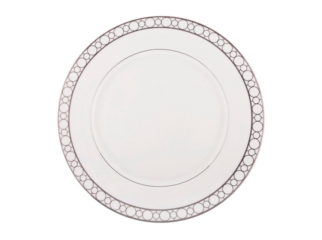 БЛЮДО КРУГЛОЕ SOHOТарелки<br>&amp;quot;Soho&amp;quot; ? превосходное блюдо, которое способно подчеркнуть особый статус любого приема. Его элегантный дизайн придает оформлению кулинарных изысков утонченность, делая их вид особенно аппетитным. Гости званных ужинов, которые будут наслаждаться едой из таких тарелок, останутся в восторге от подачи.<br><br>Material: Фарфор<br>Diameter см: 31