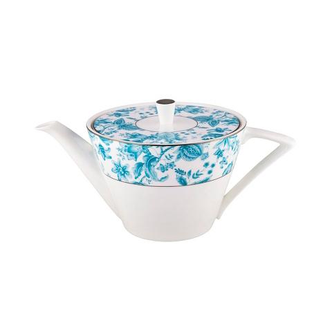 Чайник ANAISЧайники<br>Утро начинается со свежего морского бриза и ароматного чая с круассанами. Ведь чай подается в фарфоровом чайнике из коллекции &amp;quot;ANAIS&amp;quot;. Белоснежный цвет и нежный голубой цветочный узор – как же тут не улыбнуться и не ощутить радость жизни? Ведь это цвета утреннего неба и облаков, моря и прибоя. Радуйтесь новому хорошему дню с посудой от MIKASA!<br><br>Material: Фарфор
