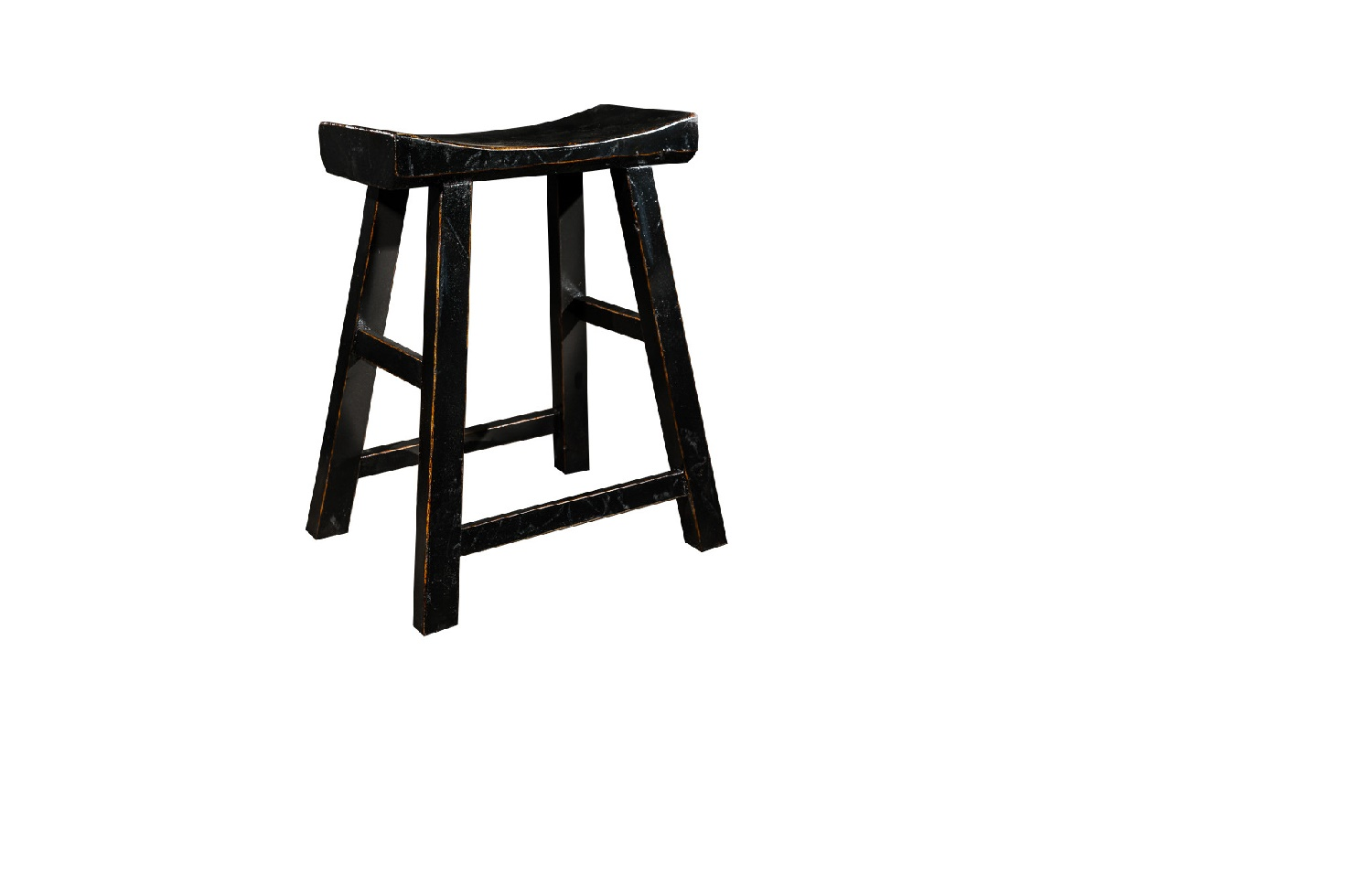 Табурет Энн ЛуТабуреты<br>&amp;quot;Энн Лу&amp;quot; ? китайский табурет, форма которого остается неизменной со времен правления династии Мин. Удобное сиденье, имеющее небольшую впадину, в комбинации с подставкой для ног обеспечивает непревзойденный комфорт. Черный цвет с золотистой отделкой смотрится очень стильно и делает табурет подходящим для колоритных этнических интерьеров.<br><br>Material: Дерево<br>Ширина см: 22<br>Высота см: 52