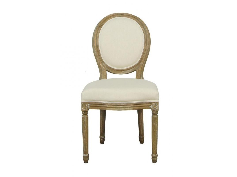СтулИнтерьерные кресла<br>Элегантный стул в прованском стиле может стать обитателем гостиной, спальни или столовой. Каркас из натурального дерева имеет &amp;quot;потрепанный&amp;quot; внешний вид за счет декоративного налета. Круглая спинка и сидение обиты мягким льном бежевого цвета. Утонченности добавляет фигурное оформление ножек. Их концы увенчаны резьбой и соединены карнизом с прорезями.&amp;lt;div&amp;gt;&amp;lt;br&amp;gt;&amp;lt;/div&amp;gt;&amp;lt;div&amp;gt;Материал: Массив дуба, лен&amp;lt;/div&amp;gt;&amp;lt;div&amp;gt;Вес: 10 кг&amp;lt;/div&amp;gt;<br><br>Material: Лен<br>Width см: 48<br>Depth см: 51<br>Height см: 97