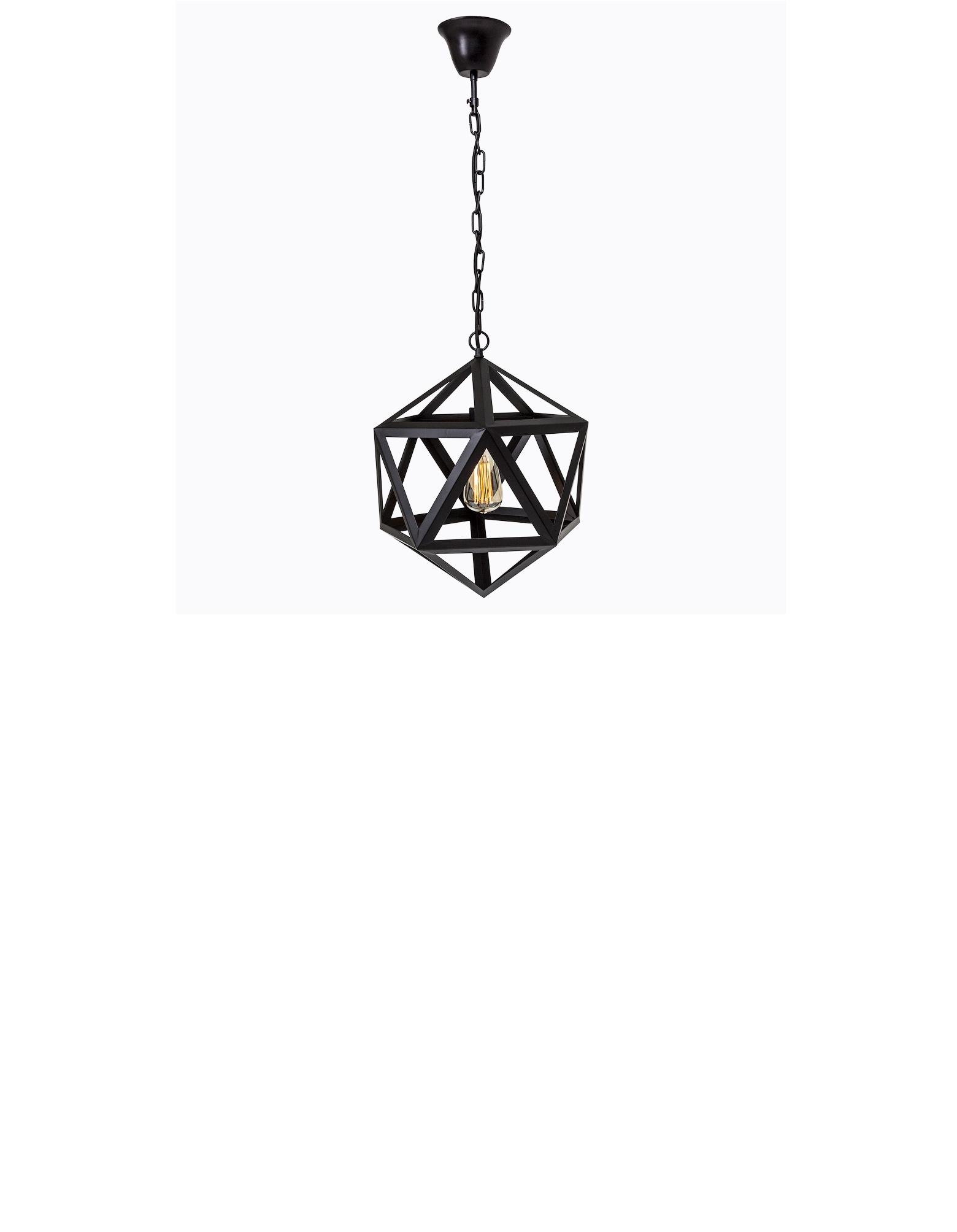 Потолочный светильник АрхимедПодвесные светильники<br>Потолочный светильник «Архимед» идеален для индустриальной атмосферы. Светильник придаст современному декору креативный имидж и подойдет как для гостиной, так и для офиса.&amp;amp;nbsp; Он поражает своей функциональностью&amp;amp;nbsp; и инновационным подходом к интерьерному дизайну. Дополненный цепью, этот металлический светильник преобразит пространство Вашего дома четкими графическими формами.&amp;amp;nbsp;&amp;lt;div&amp;gt;Размер: ? 40 см.&amp;amp;nbsp;&amp;lt;/div&amp;gt;&amp;lt;div&amp;gt;Длина подвесной цепи: 52 см.&amp;amp;nbsp;&amp;lt;/div&amp;gt;&amp;lt;div&amp;gt;Размер в упаковке: 41?41?46 см.&amp;amp;nbsp;&amp;lt;/div&amp;gt;&amp;lt;div&amp;gt;Вес: 1,7 кг; вес в упаковке: 2,72 кг.&amp;amp;nbsp;&amp;lt;/div&amp;gt;&amp;lt;div&amp;gt;Поставляется без ламп.&amp;amp;nbsp;&amp;lt;/div&amp;gt;&amp;lt;div&amp;gt;Требуется 1 лампа&amp;amp;nbsp; E27&amp;lt;/div&amp;gt;<br><br>Material: Металл<br>Length см: 40<br>Width см: 40<br>Height см: 52