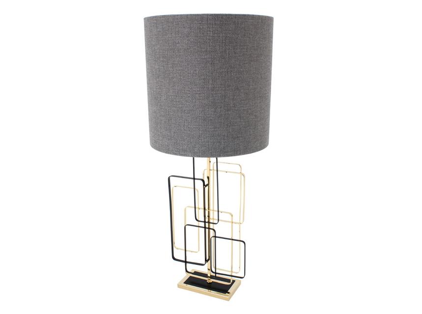 Лампа InfinityДекоративные лампы<br>Лампа &amp;quot;Infinity&amp;quot; - это воплощение строгих линий и лаконичных форм в освещении. Цилиндрический абажур из серого текстиля имеет слегка шероховатую поверхность. Но главное в ее образе, пожалуй, витиеватая ножка, состоящая из разнокалиберных прямоугольников. Их хаотичное расположение создает впечатление лабиринта. Подойдет для интерьеров в скандинавском стиле и лофта.&amp;lt;div&amp;gt;&amp;lt;br&amp;gt;&amp;lt;/div&amp;gt;&amp;lt;div&amp;gt;Лампа: E27 &amp;amp;nbsp;1x60 Вт&amp;lt;/div&amp;gt;<br><br>Material: Металл<br>Width см: 35<br>Depth см: 15<br>Height см: 80