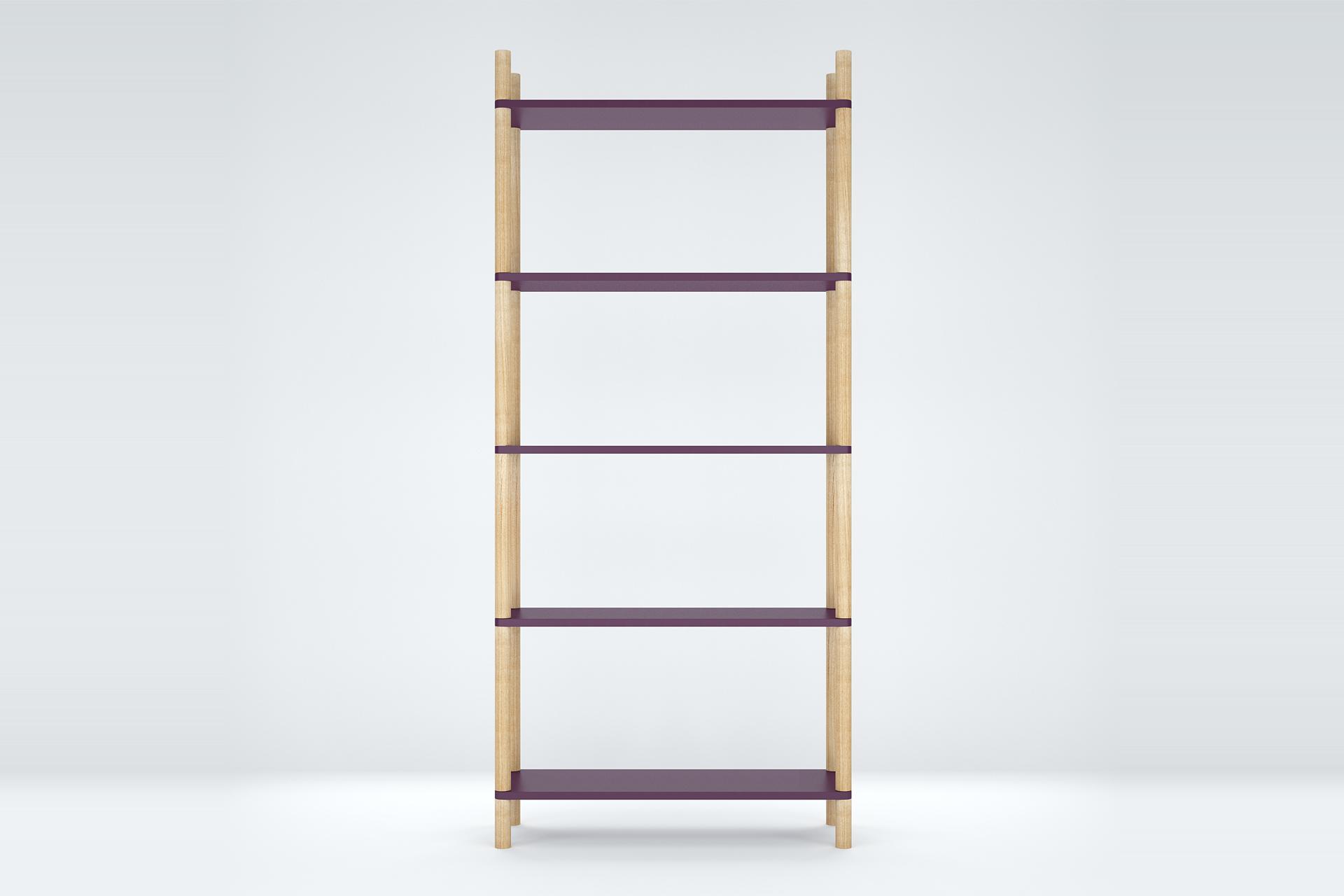 Стеллаж Latitude Saga LilaСтеллажи<br>Вдохновитесь лаконичным оформлением стеллажа &amp;quot;Latitude Saga Lila&amp;quot; для создания уникальной системы хранения. Такой, которая будет радовать своим нетривиальным обликом и повышать настроение. Яркий фиолетовый цвет и возможность сборки в различных конфигурациях помогут вам воплотить в жизнь свои идеи.&amp;amp;nbsp;&amp;lt;div&amp;gt;&amp;lt;br&amp;gt;&amp;lt;/div&amp;gt;&amp;lt;div&amp;gt;Материал: полки - крашеный шпонированный МДФ; ножки - натуральный ясень, матовый лак.&amp;amp;nbsp;&amp;lt;/div&amp;gt;&amp;lt;div&amp;gt;Возможно изготовление по индивидуальным размерам (стоимость уточняется).&amp;lt;/div&amp;gt;<br><br>Material: МДФ<br>Width см: 100<br>Depth см: 35<br>Height см: 223