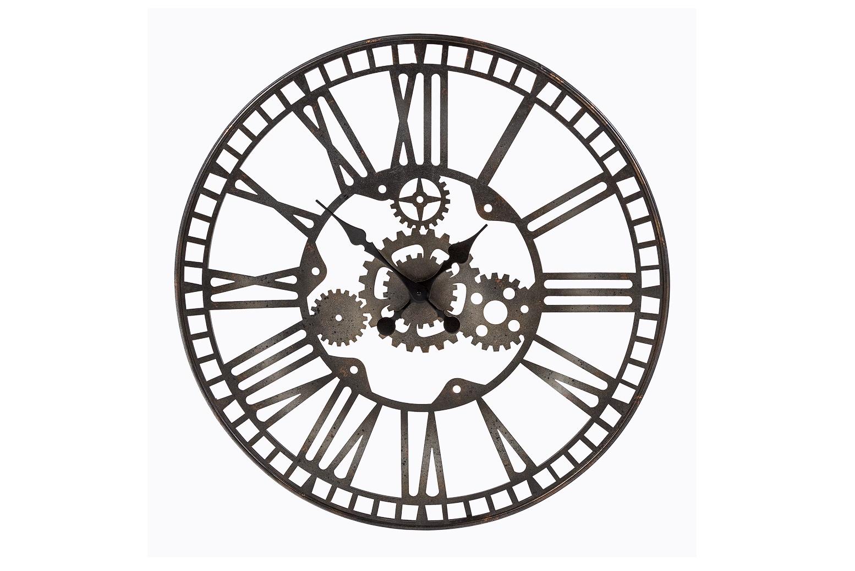 Часы «Сен-Лазар»Настенные часы<br>Стрелки часов «Сен-Лазар» будут всегда напоминать о невероятных путешествиях. Они придадут интерьеру характер и самобытность. Часы имеют удобное крепление для стены. Вам остается только лишь выбрать для них почетное место.&amp;amp;nbsp;&amp;lt;div&amp;gt;Необходимое количество батареек: 1 шт. Батарейка в комплект изделия не входит.&amp;lt;/div&amp;gt;<br><br>Material: Металл<br>Глубина см: 3.5