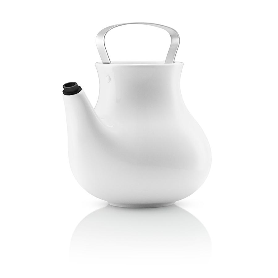 Заварочный чайник My Big Tea&amp;lt;span style=&amp;quot;line-height: 27.7777786254883px;&amp;quot;&amp;gt;Заварочный чайникв вязаном чехле.&amp;lt;/span&amp;gt;&amp;lt;div style=&amp;quot;line-height: 27.7777786254883px;&amp;quot;&amp;gt;Что вы делаете, когда холодно? Вы надеваете свитер, чтобы согреться. Свитера разнообразных цветов и узоров. У каждого из нас есть хотя бы один в гардеробе. Дизайнеры EvaSolo решили одеть керамические чайники My Big Tea в свитера, таким образом создать на кухне уютную и теплую атмосферу. Чайник My Big Tea предназначен для людей, которые ценят обаяние, функциональность и элегантный дизайн. В осенней коллекции есть 3 цветовых решения для свитеров на чайник - это клубничный розовый, слоновый серий и узорчатый норвежский серый.&amp;amp;nbsp;&amp;lt;/div&amp;gt;&amp;lt;div style=&amp;quot;line-height: 27.7777786254883px;&amp;quot;&amp;gt;Емкость чайника 1.5л этого объема достаточно, что бы посидеть в кругу семьи за чашечкой ароматного чая. Корпус чайника сделан из фарфора, ручка из нержавеющей стали, свитер для чая сделан из натурального трикотажа, специальная силиконовая насадка на носик, которая предотвращает подтекание. Чайник можно мыть в посудомоечной машине, предварительно сняв свитер, который стирается отдельно в деликатном режиме при 30 C&amp;lt;/div&amp;gt;<br><br>Material: Фарфор<br>Length см: 20<br>Width см: 17,5<br>Height см: 19