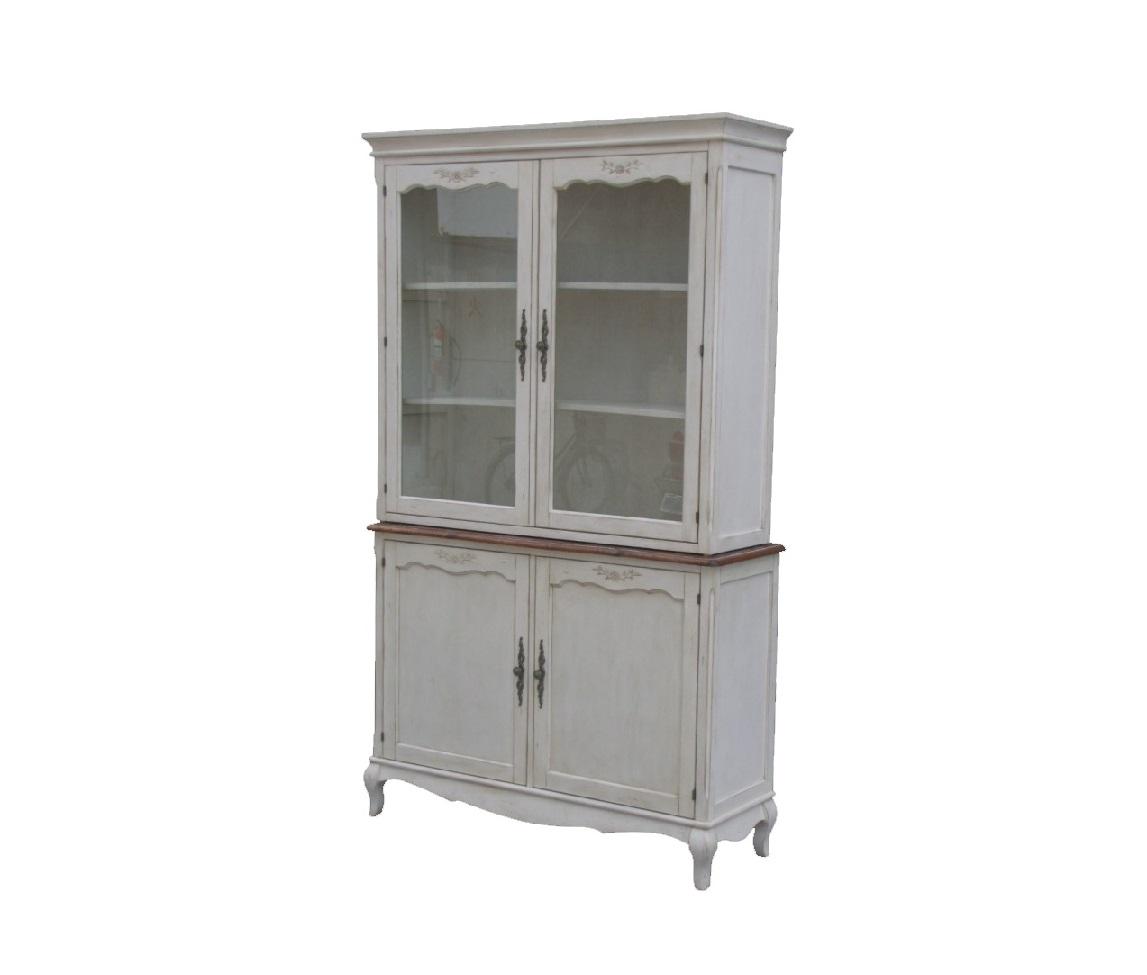 Буфет Blanc bonbonВысокие буфеты<br>Наполните столовую или кухню шармом прованса с буфетом &amp;quot;Blanc Bonbon&amp;quot;. Прекрасные цветы привнесут в дом романтику французского юга. И пусть они&amp;amp;nbsp;не&amp;amp;nbsp;будут настоящими, они все равно смогут создать в помещении неповторимую атмосферу легкости и элегантности. Белый кремовый цвет, резные детали, винтажные потертости ? это усилит великолепие, созданное превосходным оформлением.<br><br>Material: Дерево<br>Ширина см: 42<br>Высота см: 206