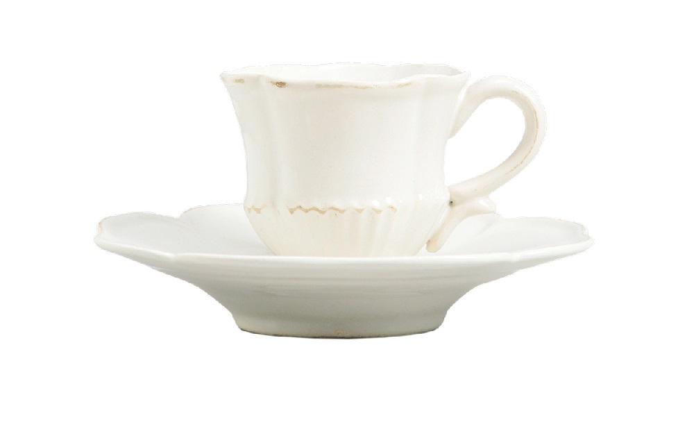 Кофейная параЧайные пары, чашки и кружки<br>Mis En Demeure – один из любимых производителей мебели среди архитекторов, декораторов и дизайнеров, создающих интерьеры в стиле французского Прованса. Ценится он за уникальный стиль.&amp;lt;div&amp;gt;Размеры: чашка - H6 см * ?7 см; блюдце ?14.5 см&amp;lt;/div&amp;gt;<br><br>Material: Керамика