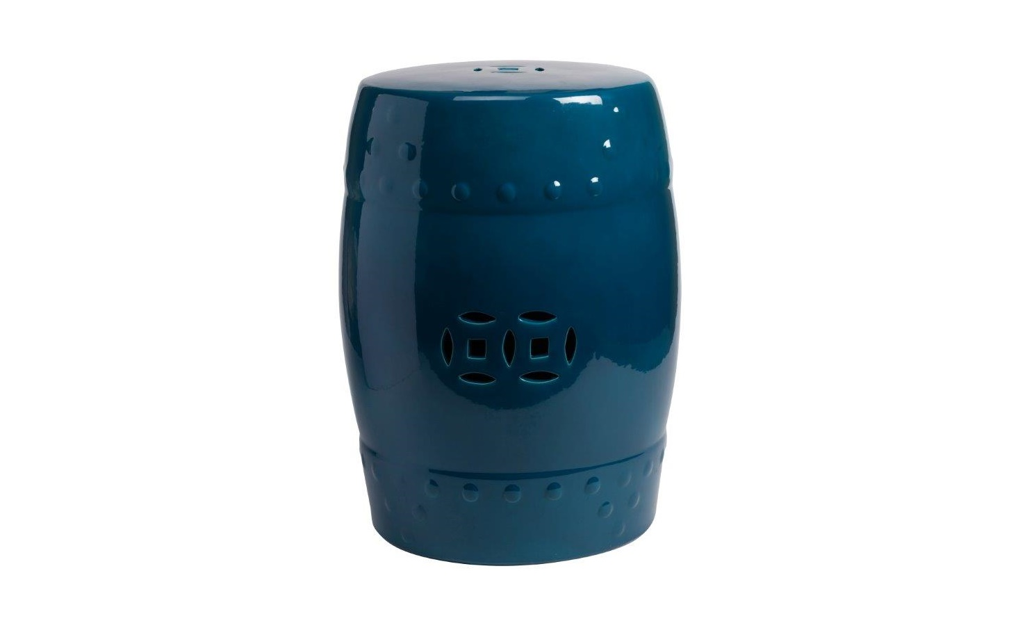 "Столик-табурет ""Garden Stool Dark Blue"""