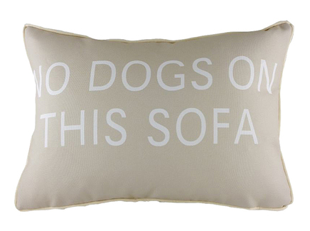 No Dogs on This Sofa DG -Home