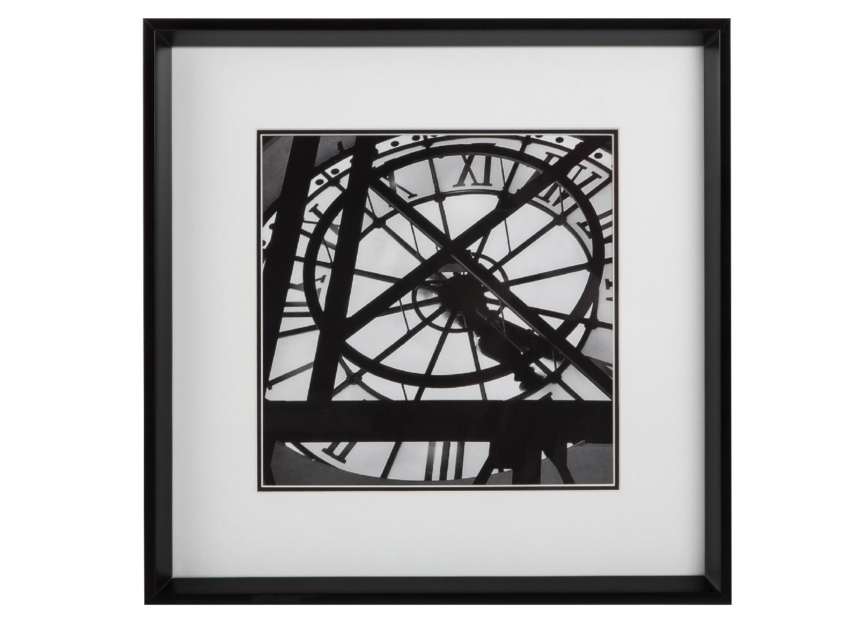 Постер с паспарту в раме Paris ClockПостеры<br>&amp;quot;Paris Clock&amp;quot; ? элегантный и строгий постер, который покорит вас своей особой геометрией. В беспорядочном сочетании множества темных линий и окружностей вы разберетесь не с первого взгляда. Такой декор превосходно впишется в элегантные классические или современные интерьеры.&amp;amp;nbsp;&amp;amp;nbsp;&amp;lt;div&amp;gt;&amp;lt;br&amp;gt;&amp;lt;/div&amp;gt;&amp;lt;div&amp;gt;Рама - дерево.&amp;lt;/div&amp;gt;<br><br>Material: Бумага<br>Width см: 49<br>Depth см: 4<br>Height см: 49