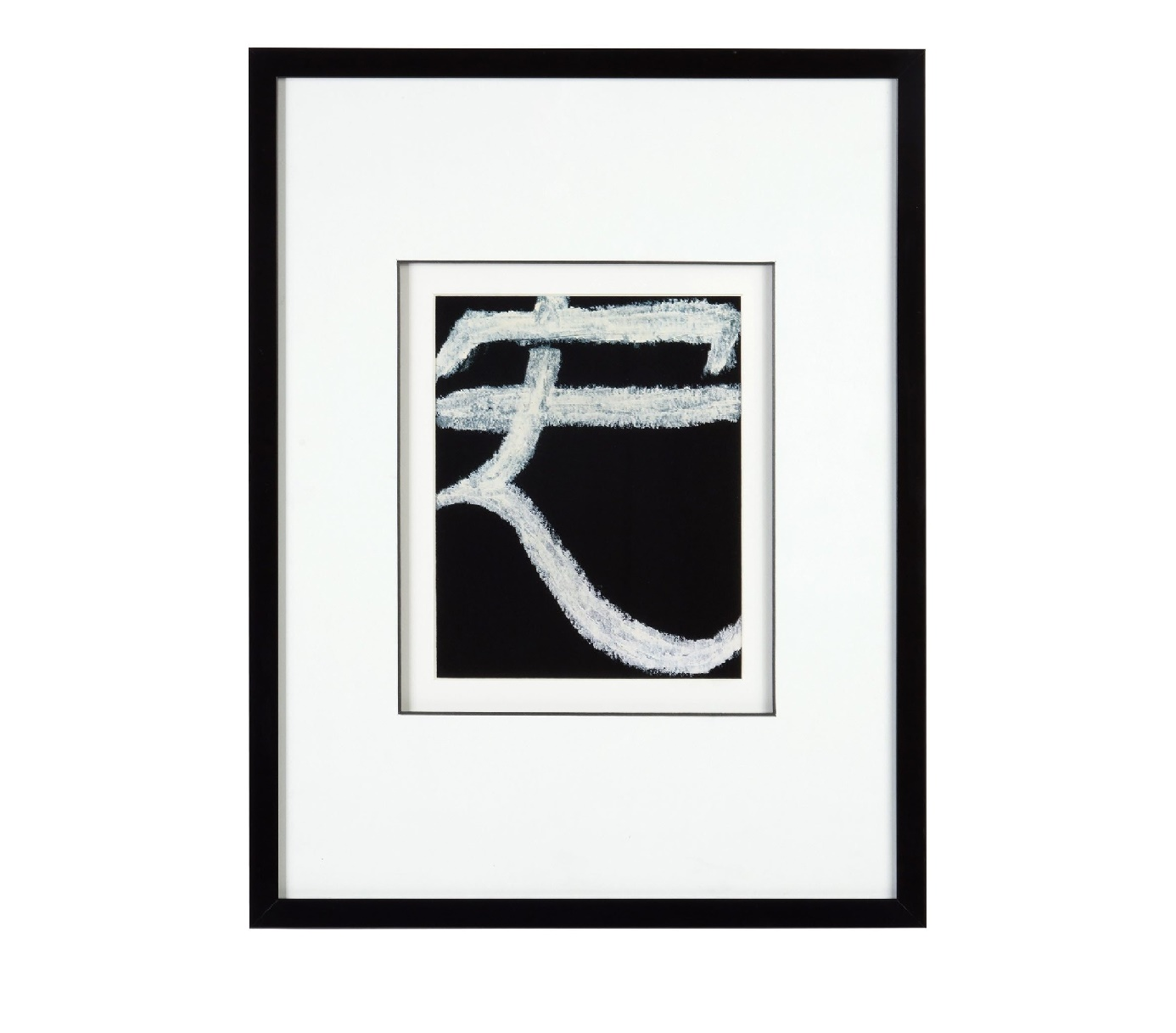 Постер с паспарту в раме Drafting SymbolsПостеры<br>Drafting Symbols ? необычный постер, который раскрывает перед нами тайну притягательности символов. Белый знак на темном фоне смотрится изысканно. Деревянная черная рама добавляет облику картины элегантность.&amp;nbsp;Рама - дерево.<br><br>kit: None<br>gender: None