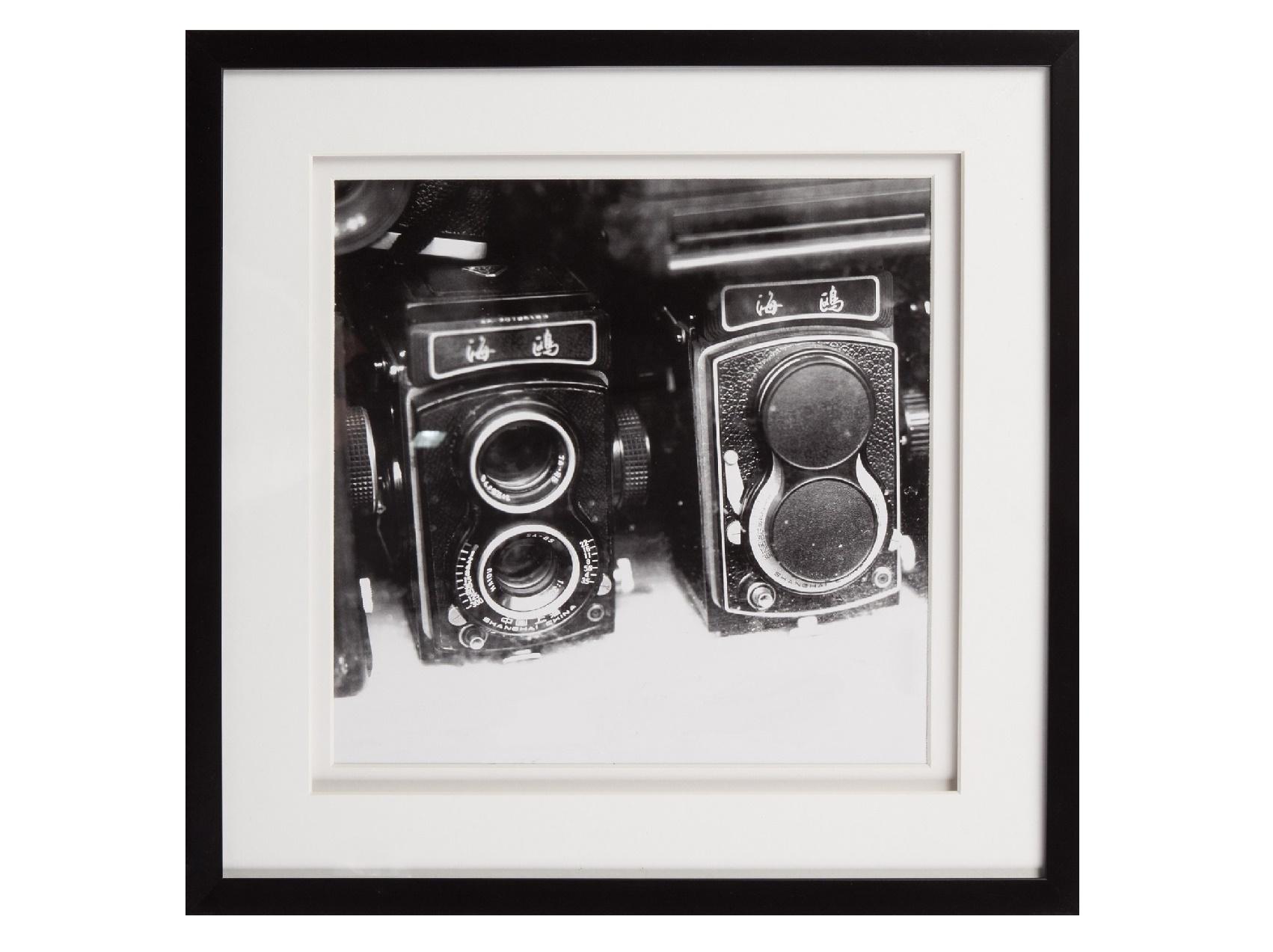 Постер с паспарту в раме Rare FindsПостеры<br>&amp;quot;Rare Finds&amp;quot; ? постер, на котором изображены старинные фотоаппараты. Такая картина, пропитанная ретро-шиком, позволит привнести в оформление пространства классическую элегантность. Она превосходно дополнит сдержанные традиционные или загадочные винтажные интерьеры.<br><br><br><br><br>&amp;amp;nbsp;&amp;amp;nbsp;&amp;lt;div&amp;gt;&amp;lt;br&amp;gt;&amp;lt;/div&amp;gt;&amp;lt;div&amp;gt;Рама - дерево.&amp;lt;/div&amp;gt;<br><br>Material: Бумага<br>Ширина см: 44<br>Высота см: 44<br>Глубина см: 3