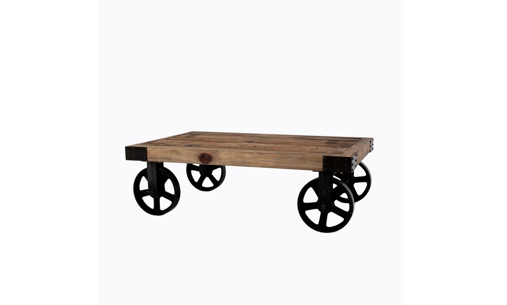 Object Desire Кофейный столик на колесах «Лофт»