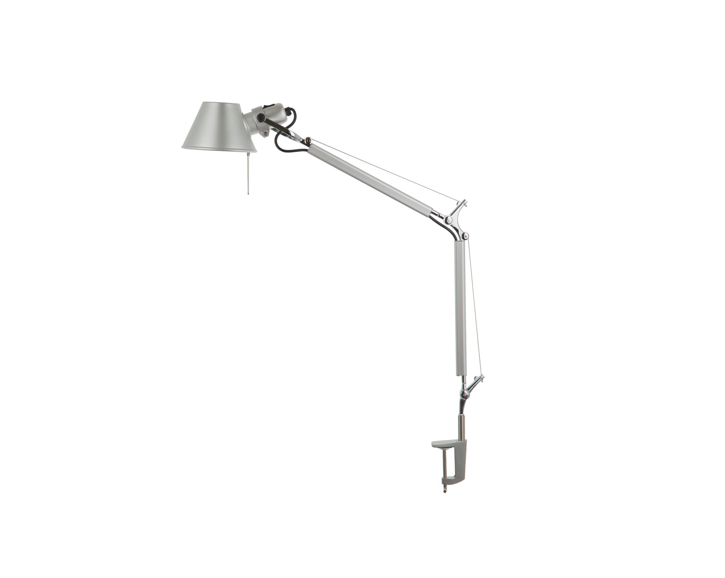 Настольная лампа TolomeoНастольные лампы<br>&amp;quot;Tolomeo&amp;quot; ? великолепный пример объединения модерна и функционала, уже почти 30 лет не выходящего из моды. Настольная лампа, созданная в 1980-х годах Giancarlo Fassina и Michele De Lucchi, и по сей день не теряет своей актуальности. Минималистичный силуэт, трансформирующаяся конструкция и современные материалы дарят ей урбанистичный облик, который способен идеально вписаться в скандинавские интерьеры.&amp;lt;div&amp;gt;&amp;lt;br&amp;gt;&amp;lt;/div&amp;gt;&amp;lt;div&amp;gt;Металлическое основание, один металлический плафон.&amp;lt;/div&amp;gt;&amp;lt;div&amp;gt;Крепление - струбцина.&amp;lt;/div&amp;gt;&amp;lt;div&amp;gt;Цвет хром (алюминий).&amp;lt;/div&amp;gt;&amp;lt;div&amp;gt;Размер 62 см х 51 см.&amp;lt;/div&amp;gt;&amp;lt;div&amp;gt;Диаметр плафона 14,8 см.&amp;lt;/div&amp;gt;&amp;lt;div&amp;gt;Патрон E27, мощность max 1*100W.&amp;lt;/div&amp;gt;&amp;lt;div&amp;gt;Вес 1.6 кг.&amp;lt;/div&amp;gt;<br><br>Material: Металл<br>Length см: 62<br>Height см: None<br>Diameter см: 14,8