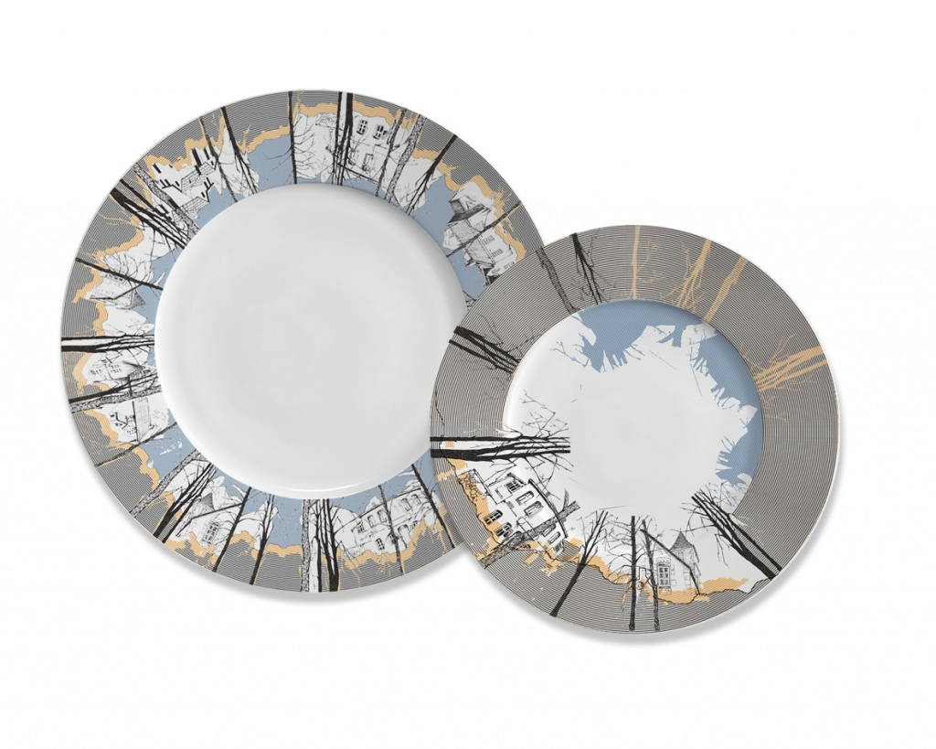 Декоративная тарелка Mateo 15430805 от thefurnish