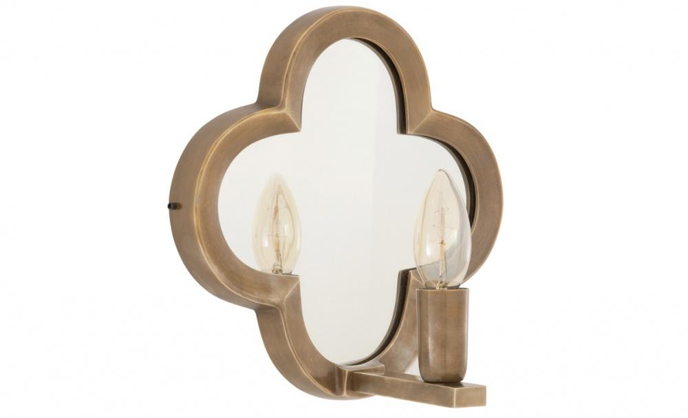 Бра West LakeБра<br>Главным элементом бра &amp;quot;West Lake&amp;quot; является зеркало. Расположенное позади источника света, оно выглядит элегантно благодаря резной латунной раме. Отражение создает потрясающую игру бликов, добавляющих завораживающую притягательность оформлению любого уголка комнаты. Лампа в форме свечи смотрится романтично, идеально дополняя дизайн в классическом французском стиле.&amp;lt;div&amp;gt;&amp;lt;br&amp;gt;&amp;lt;/div&amp;gt;&amp;lt;div&amp;gt;Количество ламп (1П), цоколь (14Е), мощность (40Вт).&amp;lt;/div&amp;gt;<br><br>Material: Латунь<br>Length см: 25<br>Width см: None<br>Depth см: 13<br>Height см: 25