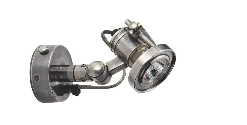 Лампа Orsay SpotСпоты<br>&amp;lt;div&amp;gt;Может ли лампа стать прибором, словно сошедшим с заводского станка? Бренд&amp;amp;nbsp;&amp;lt;span style=&amp;quot;line-height: 24.9999px;&amp;quot;&amp;gt;Mis En Demeure создал уникальный светильник из серебристого никеля с подчеркнуто &amp;quot;мужским&amp;quot; характером. Лампа &amp;amp;nbsp;&amp;quot;Orsay Spot&amp;quot; отдает дань брутальной отделке в виде стального шнура, &amp;lt;/span&amp;gt;&amp;lt;span style=&amp;quot;line-height: 1.78571;&amp;quot;&amp;gt;массивного прожектора и множества гаек, шурупов и болтов. Стиль&amp;amp;nbsp;&amp;quot;Orsay Spot&amp;quot; диктует лофт в грубых формах и непоколебимости.&amp;lt;/span&amp;gt;&amp;lt;/div&amp;gt;&amp;lt;div&amp;gt;&amp;lt;br&amp;gt;&amp;lt;/div&amp;gt;Продукция Mis En Demeure, в том числе люстры, настольные лампы и бра, с легкостью вписываются в любой дизайн и интерьер, одинаково подходя для частных домов и публичных помещений, и привнося в них атмосферу уюта и комфорта.&amp;amp;nbsp;&amp;lt;div&amp;gt;Количество ламп (1) мощность: 35w галогенная лампочка&amp;lt;/div&amp;gt;<br><br>Material: Никель<br>Length см: 8<br>Width см: 18<br>Height см: 10