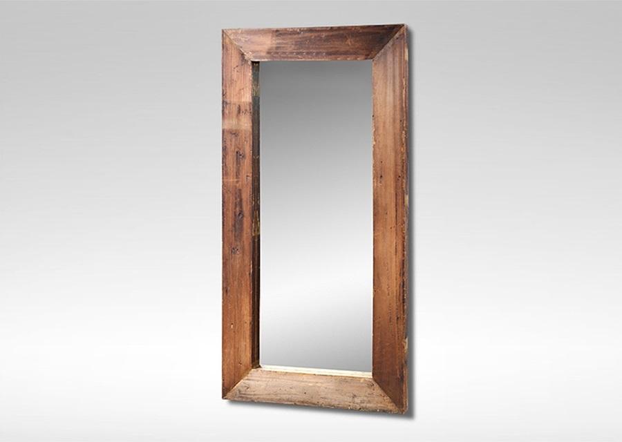 Зеркало DecНастенные зеркала<br>&amp;quot;Dec&amp;quot; ? зеркало, одновременно сочетающее в своем облике простоту и нетривиальность. Традиционный силуэт контрастирует с оригинальной массивной рамой, которая поражает не только своими внушительными размерами, но и интересной отделкой в немного небрежном стиле, близком к кантри. Потертости, темные пятна и неровные края ? с такими деталями хочется повесить зеркало в экологичном интерьере.&amp;lt;div&amp;gt;&amp;lt;br&amp;gt;&amp;lt;div&amp;gt;Рама: 15 см&amp;amp;nbsp;&amp;lt;/div&amp;gt;&amp;lt;div&amp;gt;Вес: 58 кг&amp;lt;/div&amp;gt;&amp;lt;/div&amp;gt;<br><br>Material: Тик<br>Width см: 90<br>Depth см: 7<br>Height см: 150