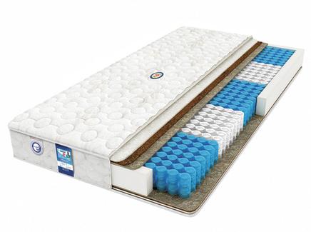 Матрас askona terapia quadra 180*190 (askona) белый 190.0x21.0x180.0 см.