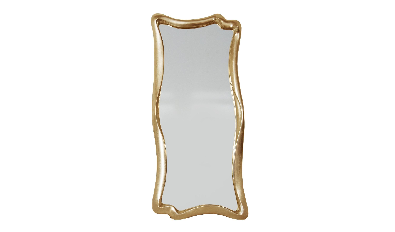 Зеркало МАРЭНастенные зеркала<br>&amp;lt;div&amp;gt;&amp;lt;div&amp;gt;Это зеркало достаточно необычно, многим напоминает сюрреалистичные образы Сальвадора Дали и его &amp;quot;Постоянства времени&amp;quot; ? плавные и текучие. Для придания помещению богемной нотки ? оптимально. Рама изготовлена из мебельного пенополиуретана, материала прочного, современного, отвечающего всем экологическим требованиям. Используемые краски и лаки также абсолютно безопасны для человека и очень устойчивы.&amp;lt;/div&amp;gt;&amp;lt;/div&amp;gt;&amp;lt;div&amp;gt;&amp;lt;br&amp;gt;&amp;lt;/div&amp;gt;&amp;lt;div&amp;gt;Цвет: Золото Поталь&amp;lt;/div&amp;gt;<br><br>Material: Полиуретан<br>Length см: None<br>Width см: 53<br>Depth см: 4<br>Height см: 120