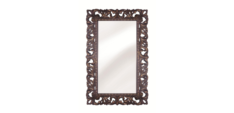 Интерьерное Итальянское зеркалоНастенные зеркала<br>&amp;lt;div&amp;gt;&amp;lt;div&amp;gt;Рама для этого изысканного зеркала изготовлена из мебельного пенополиуретана. Этот материал стоит намного меньше натурального массива, хотя визуально выглядит ничуть не хуже, а уж по свойствам ? гораздо практичнее. Его поверхность очень прочна, можно не бояться повредить тонкую резьбу. ППУ не боится влаги, а стойкое лакокрасочное покрытие не выгорает на солнце, не теряет яркости с течением времени.&amp;lt;/div&amp;gt;&amp;lt;/div&amp;gt;&amp;lt;div&amp;gt;&amp;lt;br&amp;gt;&amp;lt;/div&amp;gt;&amp;lt;div&amp;gt;Цвет:&amp;amp;nbsp;Красное дерево Золото&amp;lt;/div&amp;gt;<br><br>Material: Полиуретан<br>Length см: None<br>Width см: 63<br>Depth см: 4<br>Height см: 95