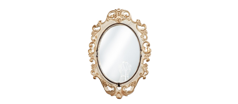 Зеркало ВИНТАЖНастенные зеркала<br>Это винтажное зеркало выдержано в модном стиле шебби шик. Резная рама покрыта лаком-кракелюр, создающим характерные трещинки, а каждый рельеф ? золочением. Обрамление изготовлено из композитного пенополиуретана. Этот практичный материал не боится воды, поэтому зеркало можно повесить в ванной.Он абсолютно безопасен для человека, не содержит вредных примесей, не имеет запаха.&amp;lt;br&amp;gt;&amp;lt;br&amp;gt;&amp;lt;div&amp;gt;Цвет:&amp;amp;nbsp;Слоновая кость Золото Кракелюр&amp;lt;br&amp;gt;&amp;lt;/div&amp;gt;<br><br>Material: Полиуретан<br>Length см: None<br>Width см: 67<br>Depth см: 4<br>Height см: 96
