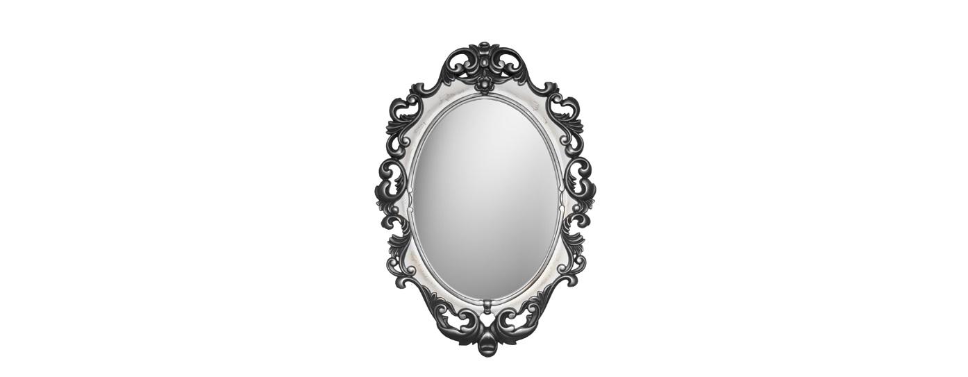 Зеркало ВИНТАЖНастенные зеркала<br>Это винтажное зеркало вставлено в резную раму, выкрашенную в черно-белой гамме с легким серебряным акцентом. Несколько готический образ дополняет лак-кракелюр. Он создает на поверхности эффектные трещины. Обрамление выполнено из мебельного пенополиуретана. Этот современный практичный материал не требует специального ухода, влагоустойчив и экологически безопасен.&amp;lt;br&amp;gt;&amp;lt;br&amp;gt;&amp;lt;div&amp;gt;&amp;lt;div&amp;gt;Цвет:&amp;amp;nbsp;Черный Белый Серебро Кракелюр&amp;lt;br&amp;gt;&amp;lt;/div&amp;gt;&amp;lt;/div&amp;gt;<br><br>Material: Полиуретан<br>Ширина см: 67<br>Высота см: 96<br>Глубина см: 4